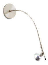 Stone Lighting PLHL200SNM5M - Picture Light Highlighter 50 W Satin Nickel MR16 Halogen 50W