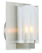 Stone Lighting WB222CRPNG940 - Wall Bracket Crystal Rectangle Clear Polished Nickel G9 40w 120V