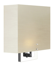 Stone Lighting WS225FWSNMB4 - Wall Sconce Zen Frosted White Satin Nickel Medium Base Incandescent 40W