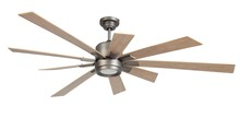 "Craftmade KAT72PT - Katana 72"" Ceiling Fan in Pewter (Blades Sold Separately)"