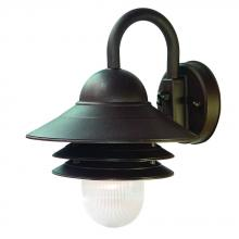 Acclaim Lighting 82ABZ - 1-Light Outdoor Architectural Bronze Light Fixture