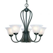 Millennium 76-BK - Chandelier Ceiling Light