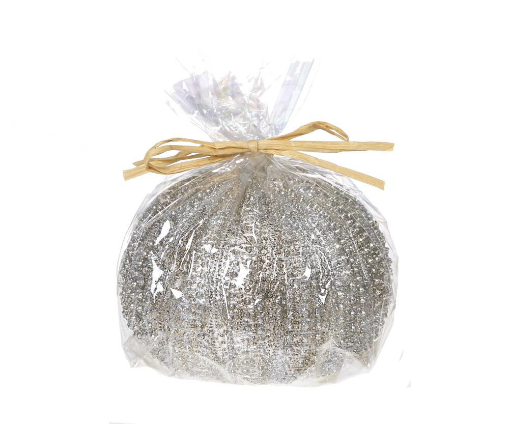 Candle - Sea Urchin Silver Large