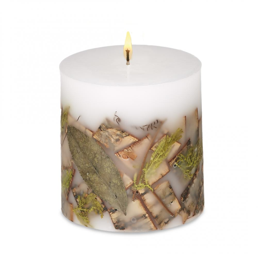 Candle - 4x4 Birch & Moss