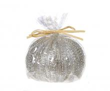 Deco Breeze CDL5450 - Candle - Sea Urchin Silver Large