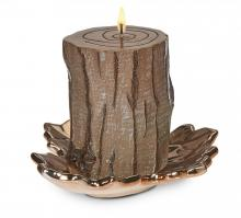 Deco Breeze CDL5499 - Candle - 3x4 Pine Bark