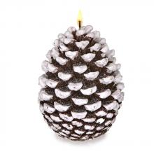 Deco Breeze CDL5511 - Candle - Snow Tip Pinecone Large
