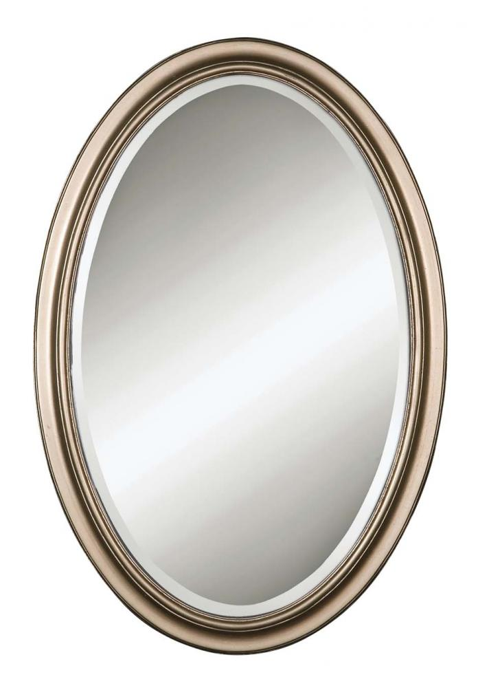Fixture This in Tyler, Texas, United States,  08646 B, Uttermost Petite Manhattan Champagne Silver Mirror, Petite Manhattan