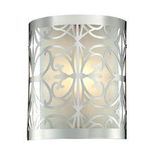 ELK Lighting 11430/1 - Willow Bend 1 Light Vanity In Polished Chrome