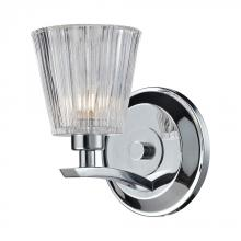ELK Lighting 31162/1 - Calais 1 Light Vanity In Polished Chrome And Cle