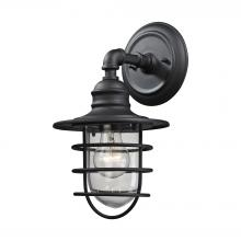 ELK Lighting 45212/1 - Vandon 1 Light Outdoor Wall Sconce In Charcoal