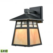ELK Lighting 87050/1-LED - Cottage 1 Light LED Outdoor Wall Sconce In Matte